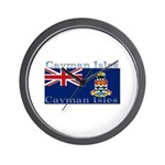 Cayman Islands Wall Clock