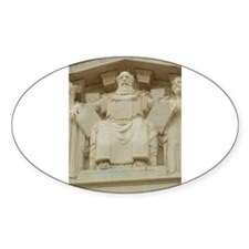 SCOTUS MOSES Oval Sticker (10 pk)