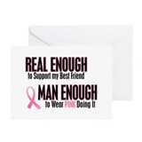 Real Enough Man Enough 1 (Best Friend) Greeting Ca