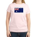 Cocos Islands Women's Pink T-Shirt