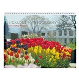 Just simply tulips Wall Calendar