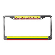 Colombia Colombian Flag License Plate Frame