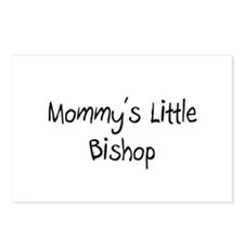 Mommy's Little Bishop Postcards (Package of 8)