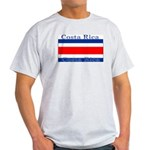 Costa Rica Costa Rican Flag Ash Grey T-Shirt