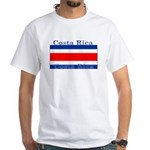 Costa Rica Costa Rican Flag White T-Shirt