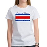 Costa Rica Costa Rican Flag Women's T-Shirt