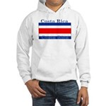 Costa Rica Costa Rican Flag Hooded Sweatshirt