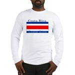 Costa Rica Costa Rican Flag Long Sleeve T-Shirt