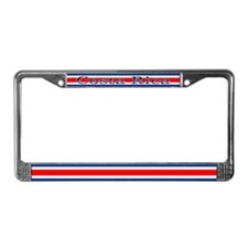 Costa Rica Costa Rican Flag License Plate Frame