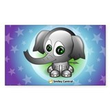 Elephant Rectangle Decal