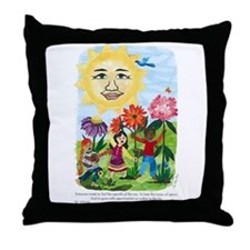 Warmth of the Sun - Throw Pillow
