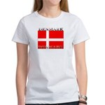 Denmark Danish Flag Women's T-Shirt