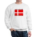 Denmark Danish Flag Sweatshirt