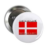 Denmark Danish Flag Button