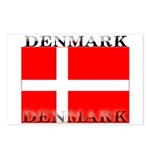 Denmark Danish Flag Postcards (Package of 8)
