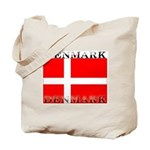 Denmark Danish Flag Tote Bag