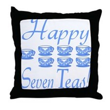 70th Birthday Throw Pillow