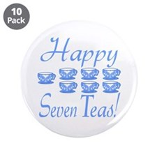 "70th Birthday 3.5"" Button (10 pack)"