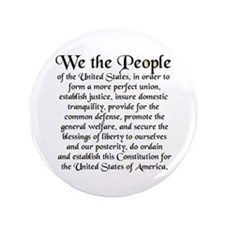 "We the People US 3.5"" Button"