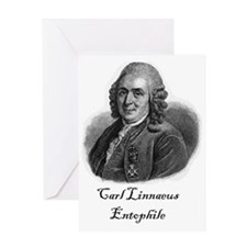 Linnaeus Entophile Greeting Card