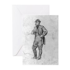 Infantry Colonel 1863 Greeting Cards (Pk of 10