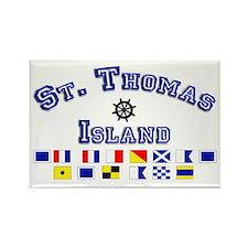 St. Thomas Island Rectangle Magnet