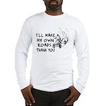 Make My Own Roads Long Sleeve T-Shirt