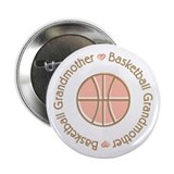 Basketball Grandmother 2.25&quot; Button (100 pack)