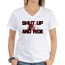 Shut up and ride. Shirt