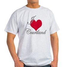 I love (heart) Courtland T-Shirt