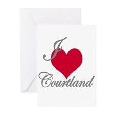 I love (heart) Courtland Greeting Cards (Pk of 10)