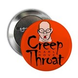"Karl Rove Creep Throat 2.25"" Button (10 pack)"