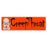 Karl Rove Creep Throat Bumper Bumper Sticker