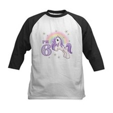 Pretty Pony 6th Birthday Tee