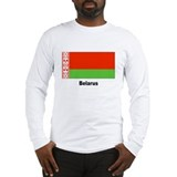Belarus Flag (Front) Long Sleeve T-Shirt