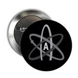 "ATHEIST SYMBOL 2.25"" Button"