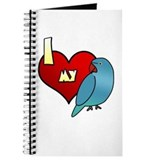 Love Blue Ringneck Hen Journal