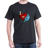 Love Blue Indian Ringneck T-Shirt