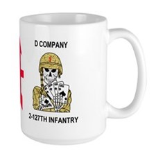 127th Infantry <BR>D Company 15 Oz Mug