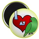 Love Hen Indian Ringneck Magnet