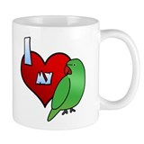 Love Hen Indian Ringneck Coffee Mug