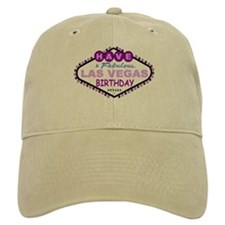 Have A Fabulous Las Vegas Birthday Baseball Cap