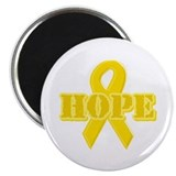 Hope Yellow ribbon Magnet