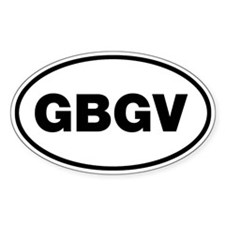 GBGV Oval Decal