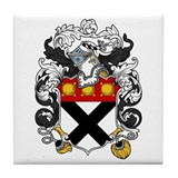 Johnson Family Crest Tile Coaster