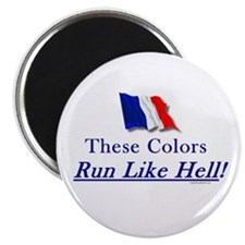 "Run Like Hell! 2.25"" Magnet (10 pack)"