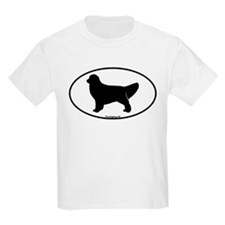 Golden Retriever Oval T-Shirt