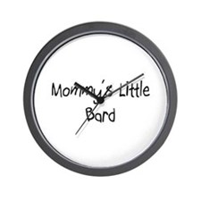 Mommy's Little Bard Wall Clock