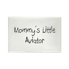 Mommy's Little Aviator Rectangle Magnet (10 pack)