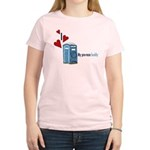 I Heart Porta-Potty Women's Light T-Shirt